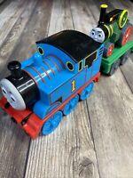 Thomas The Train & Trevor TOMY Gullane 2004 Pull & Go W Trailer Thomas & Friends