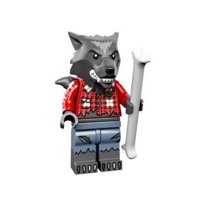 Lego Wolf Guy 71010 Collectible Monster Series 14 Minifigures