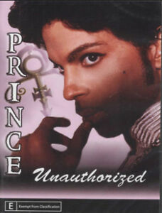 Prince Unauthorized Unauthorised DVD New and Sealed Australian Release