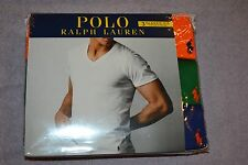 Polo Ralph Lauren Set of 3 Classic Fit Cotton V-Necks T-Shirts Size XX-Large NIB