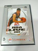 NBA Live 2004 - Set para PC 3 X Cd-Rom Ausgabe Spanien - 3T