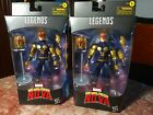 Marvel Legends Exclusive The Man Called Nova Lot Of 2 NEW, SEALED, FRESH For Sale
