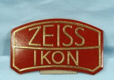 Vintage Zeiss Ikon Display Sign Extremely Rare!! Mint !!