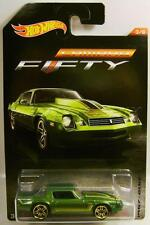 1981 '81 CHEVY CAMARO 50TH FIFTY ANNIVERSARY EDITION 3/8 HOT WHEELS DIECAST 2017