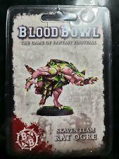 Blood Bowl Rat Ogre Skaven Team Big Guy Forge World Sealed New