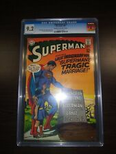 SUPERMAN 215 CGC 9.2 High Grade Silver Age Only 36 Graded Higher!!