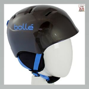NEW $70 Bolle Mini Charger Black Snowboarding Skiing Helmet Giro Youth Kids
