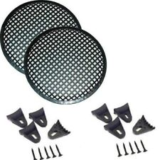 "1 Pair 6.5"" Speaker Waffle Grill Mesh Cover for Speakers And Woofers GR-6.5"