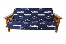 College Covers Psufc Penn State Futon Cover Full Size Fits 8 And 10 Inch Mats