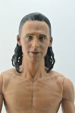 """1/6 Scale Loki Thor Tom Hiddleston Head Carving F 12"""" Male Action Figure Toys"""
