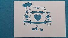 Schablonen 887 Auto Wandtattoo Hochzeit Wandbilder Airbrush Wanddekoration Mylar