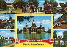 Alte Postkarte - Hannover Die Stadt im Grünen