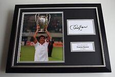 Franco Baresi SIGNED FRAMED Photo Autograph 16x12 display AC Milan AFTAL & COA