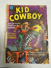 Ziff Davis KID COWBOY #5 (1951) Western, Berg, Painted Cover