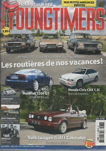YOUNGTIMERS 78 GOLF I CABRIOLET MASERATI 3200 GT HOBBYCAR B612 TOYO LAND CRUISER