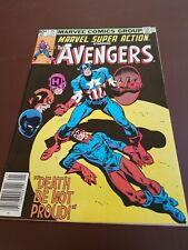 Marvel Super Action Avengers #15 1980 Reprint Avengers #56 4.5 VG+