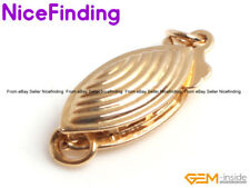 14K Gold Filled Fish Necklace Clasp For Jewelry Making Repair Finding 5x13mm