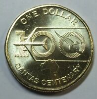 2020 $1 QANTAS Spirit of Australia 100 Years Centenary Coin from Mint Bag