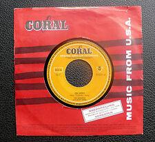 """7"""" Buddy Holly - Oh Boy/ Peggy Sue - German Coral"""