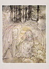 Sulamith Wulfing-Parting. Wishing Card.Vintage  FREE INT>SHIPPING