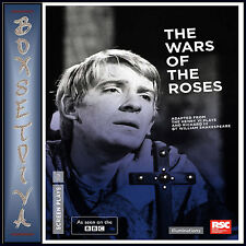 THE WARS OF THE ROSES - BBC - Ian Holm & Peggy Ashcroft *BRAND NEW DVD***