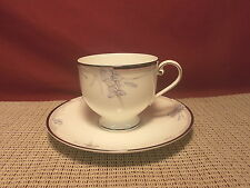 Oscar de la Renta China Vintage Blue AF019 Pattern Cup & Saucer New