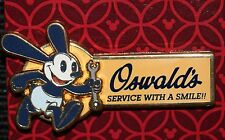 DLR DCA Disneyland Oswald the Lucky Rabbit Service With A Smile Pin NEW ON CARD