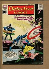 Dective Comics #296 - The Menace of the Planet Master - 1961 (Grade 3.5) Wh