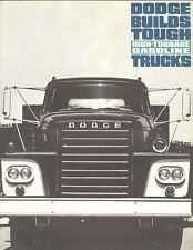 1963 Dodge High-Tonnage Gasoline Truck Sales Brochure  11/62
