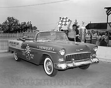 Photograph 1955 Chevy Indy 500 Pace Car May 30, 1955    8X10