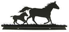 Mare & Foal Mailbox Topper Decor Horse