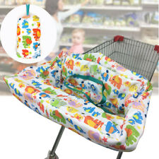 Baby Kid Child Shopping Trolley Cart Seat Pad High Chair Cover Protective Mat