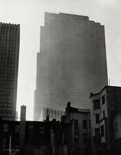 1940/63 Vintage 16x20 RCA BUILDING Architecture New York City Art By ANSEL ADAMS