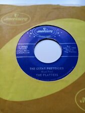 "The Platters - The Great Pretender / Only You 7"" single EX/VG (USA)"