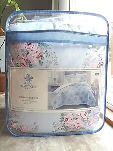 Simply Shabby Chic Bouquet Rose 4-Piece KING Comforter Set (Free Shipping)