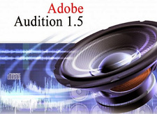 Adobe Audition 1.5 Audio Sound Editing Software 2PC Guaranteed to fully install