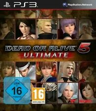 Sony PS3 Playstation 3 Spiel ***** Dead or Alive 5 Ultimate *************NEU*NEW