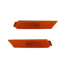 NEW PAIR OF SIDE MARKER LIGHT FITS CHEVROLET CAMARO 2010-2015 92246244 GM2550197