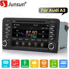 Car Radio Stereo For Audi A3 S3 Rs3 2003-2012 Gps Navigation Dvd Player Dab+ Bt