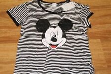 Graphic Tee Striped Regular Size T-Shirts for Women