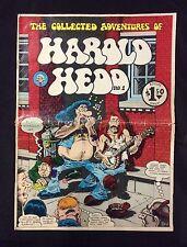 "1973 ""Harold Hedd"" #1 underground comix Rand H. Holmes oversized comic"