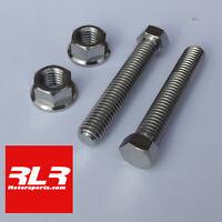 Suzuki GSXR750-600 SRAD 1996-1999 titanium axle chain adjuster bolt SET
