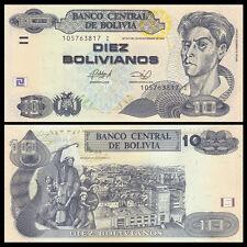 Bolivia 10 Bolivianos, 1986(2012), P-233, UNC