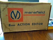 Vintage Mansfield Reporter 8mm Film Movie Action Editor