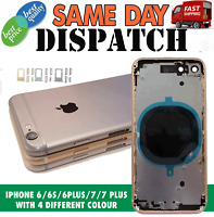 Apple iPhone 6 6S 6+ 6S+ 7 7 Plus Housing Back Rear Frame Cover Replacement