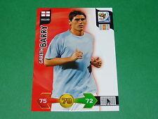 BARRY ENGLAND  PANINI FOOTBALL FIFA WORLD CUP 2010 CARD ADRENALYN XL