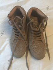 Tan Coloured Boots, Next, Size UK 6, Wedged Heel