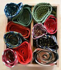 Job Lot of 11 Designer and Other Vintage Ties/11 Designerkrawatten Pure Silk