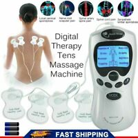 TENS MACHINE DIGITAL THERAPY FULL BODY MASSAGER 8 PAIN RELIEF ACUPUNCTURE BACK