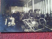 Rare 1910s Rppc Postcard Interior Automobile Car School Kansas City Missouri Mo